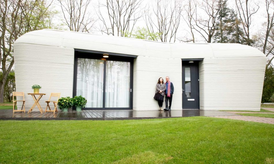 Dutch couple moves into Europe's first fully 3D-printed home | The Optimist Daily