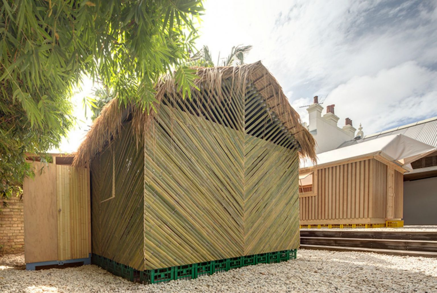 These emergency shelters can later be converted into permanent homes