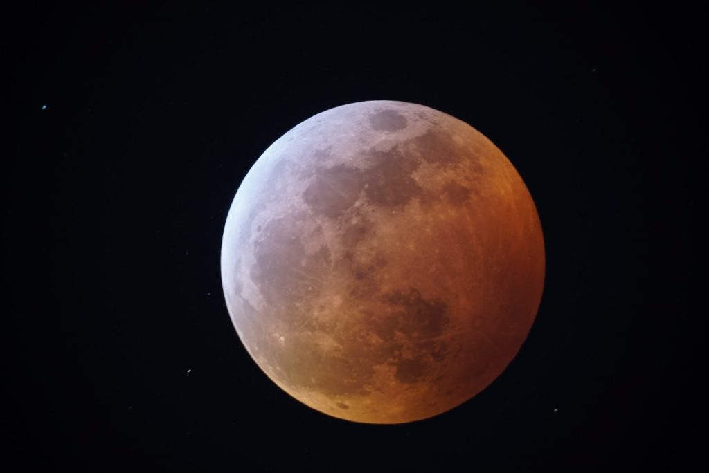Image courtesy of Justin Foley, Mars 2020 Systems Engineer at the NASA Jet Propulsion Laboratory. Blood Moon Lunar Eclipse - Justin Foley