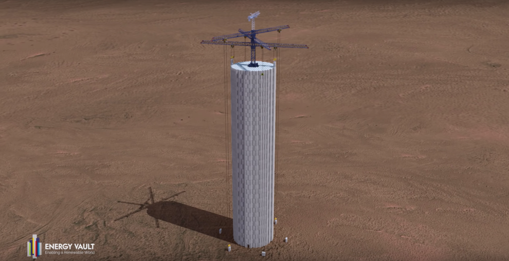 A Simple Solution: Concrete Blocks to Store Energy