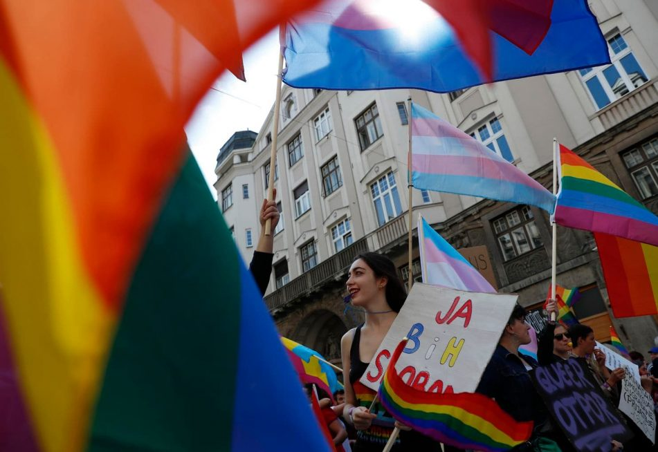 Bosnia just held its first Gay Pride Parade ever—and it was a success!