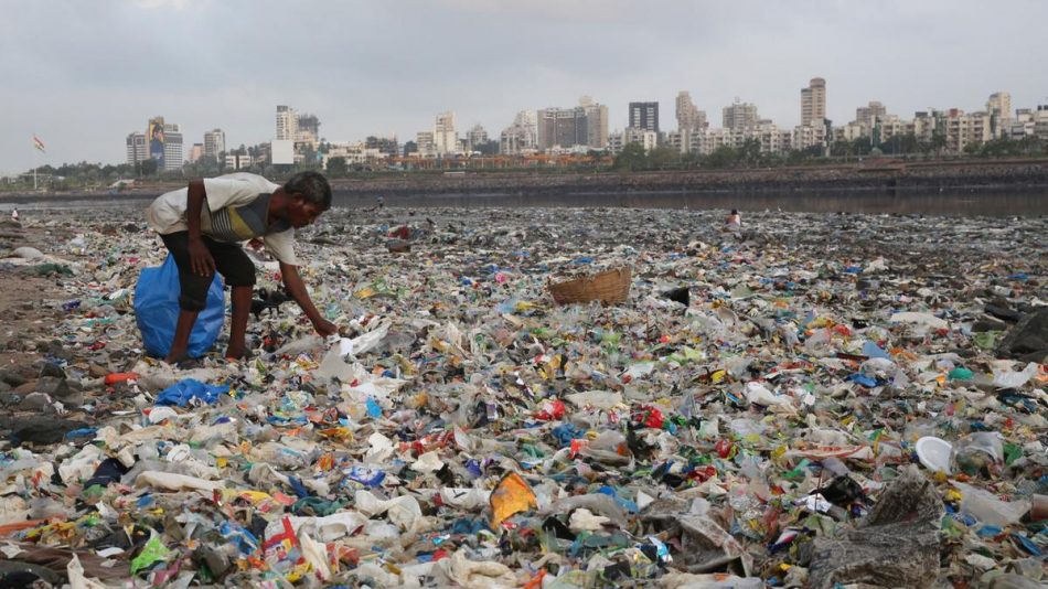 India wages war against single-use plastics to fight the country's trash crisis