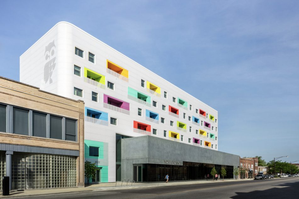 Colorful Chicago building proves affordable housing and beauty can go together