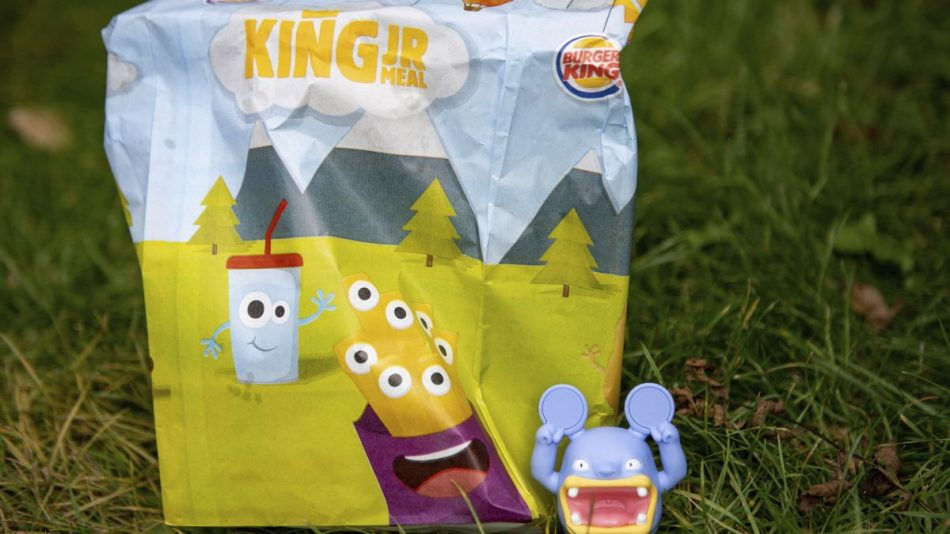 Burger King UK will scrap plastic toys from its kids' meals