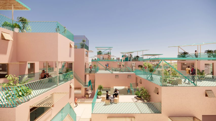 Affordable housing design uses plastic waste to build sustainable homes