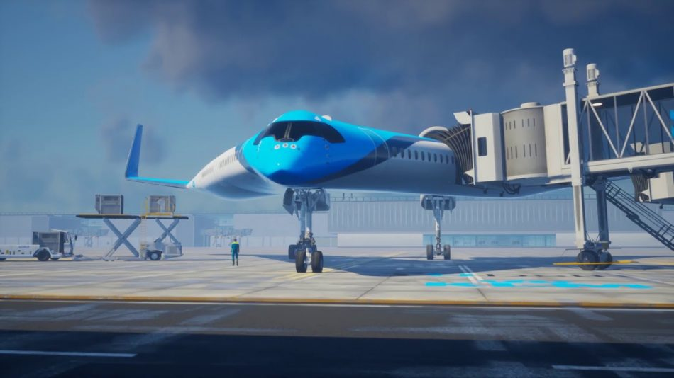 KLM is attempting to reinvent the airplane. More airlines need to be like KLM