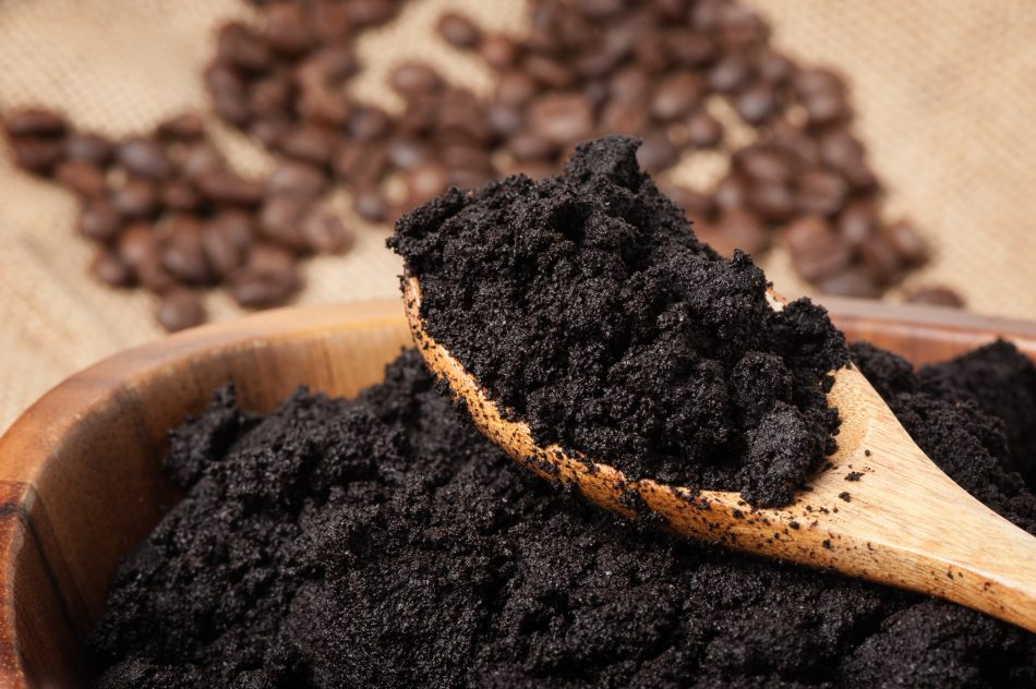 How your morning coffee grounds could become sustainable textile dye