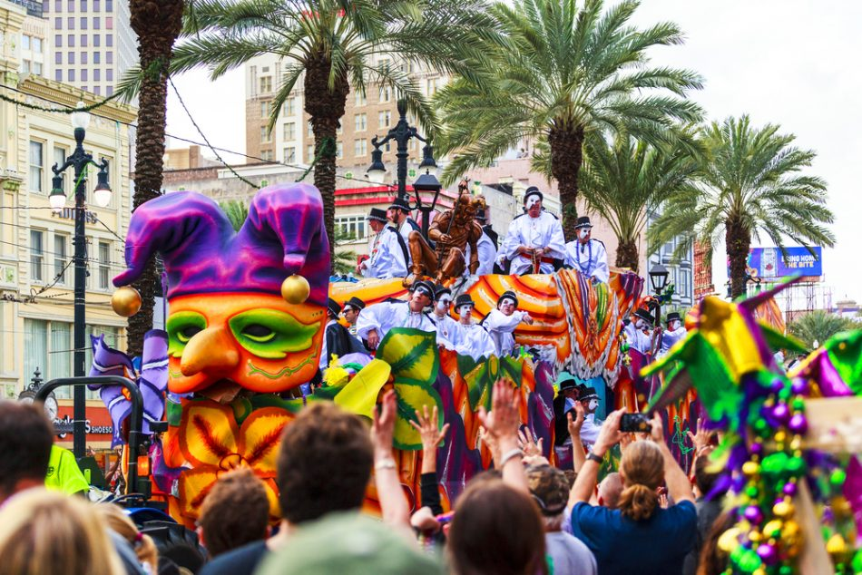 With parades cancelled, New Orleans transformed houses into floats
